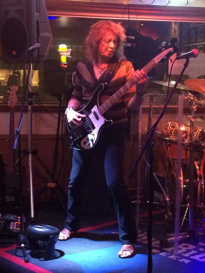 Rocking out at Benny's 8/16/2014