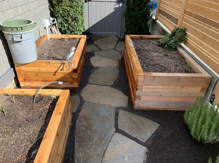 Flagstone Pathway, West Vancouver BC