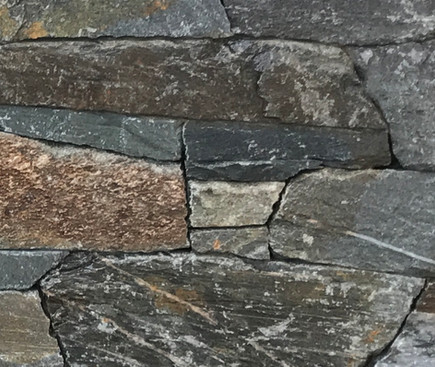 Stone Facing, West Vancouver BC