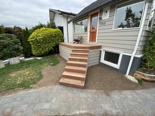 Kayu Front Porch, Vancouver BC
