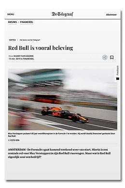 Red Bull is vooral beleving - telegraaf-