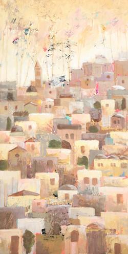 J96-I Dream of Jerusalem in Beige