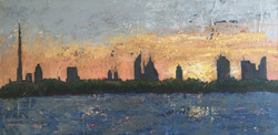 P21- Sunset from the Creek