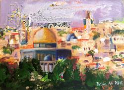 J110-Jerusalem Postcard