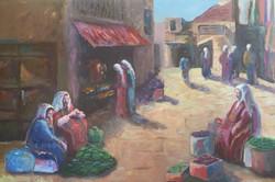 Vegetable Market Ladies