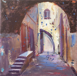 J98- Stairs through the Arch
