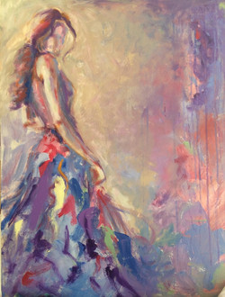 Lady in Pastel