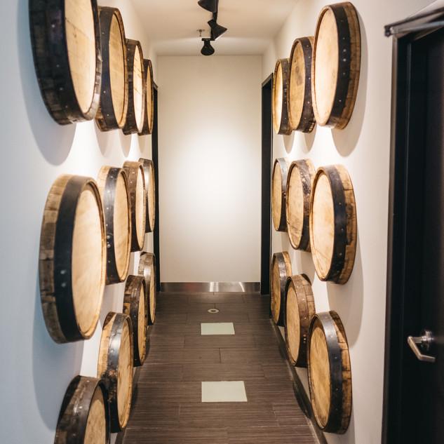Washroom Barrel Hallway