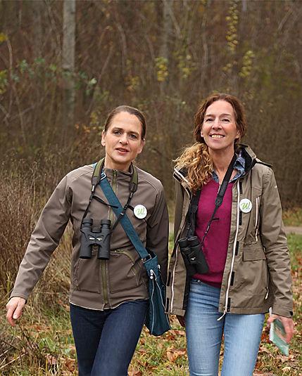Wildnisbotinnen, Silke Frank und Iris Rosebrock