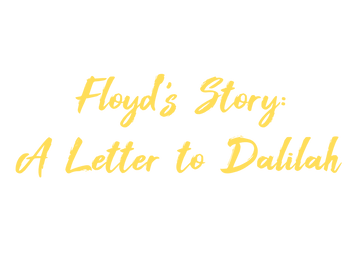 Floyd Story Logo - Yellow with Transpare