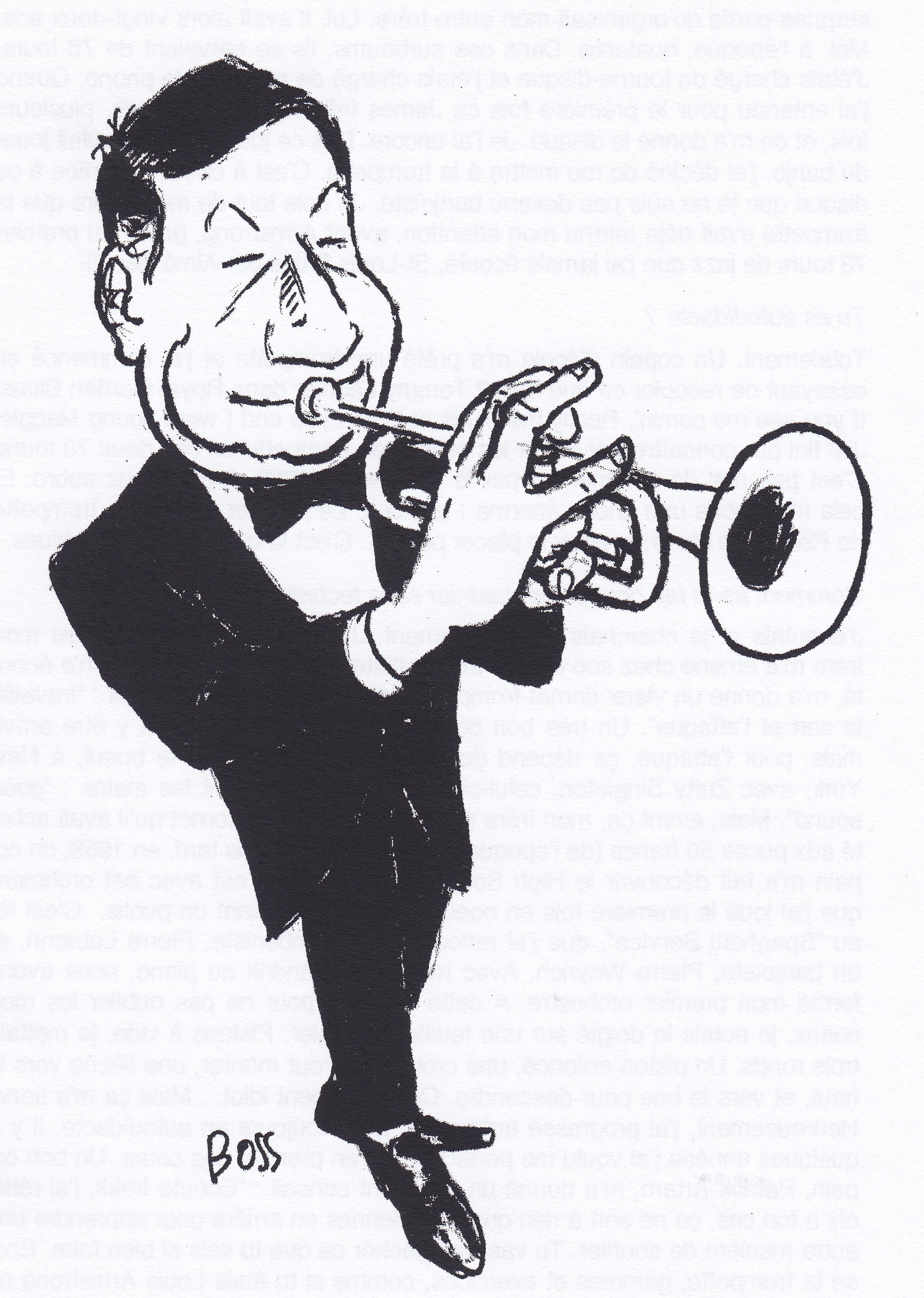 Irakli - caricature de Boss