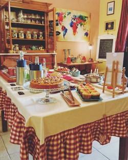 sala colazione il buffet