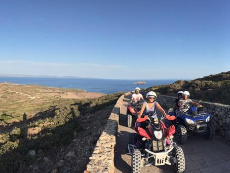 Escursione in quad a Sant'Antioco
