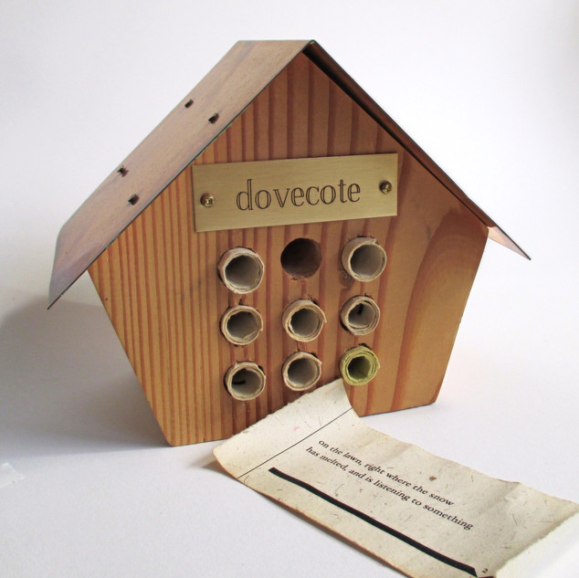 Dovecote: Poem in fragments by M.E.Hope