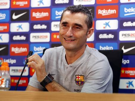 Valverde contundente con Rakitic
