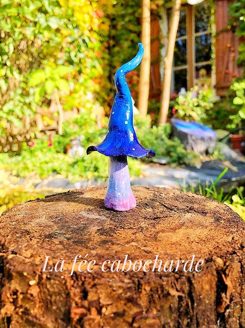 Champimignon de la forêt enchantée ( bleu )