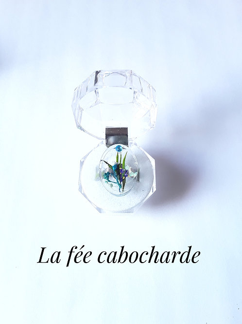 """Bague """"Bouquet bleu"""""""