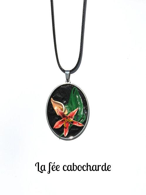"""Collier """"Petit bouquet Lys"""""""