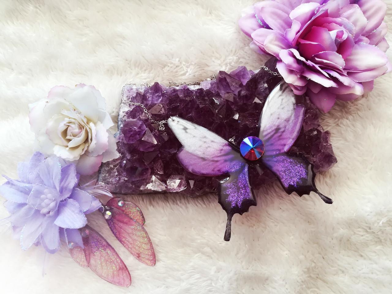 Ailes de fées et Papillons cristallisés