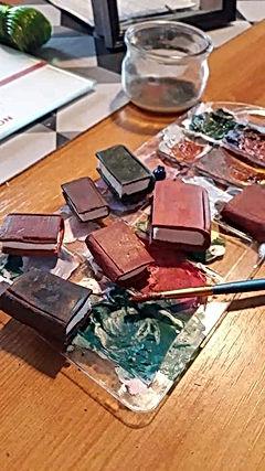 modelage et peinture de grimoires miniat