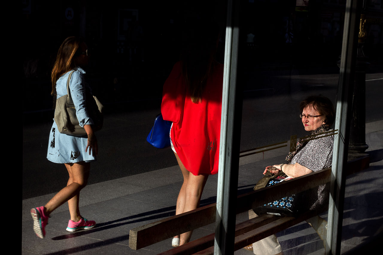 """From the series """"People and Streets"""""""