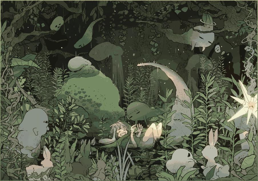 森のタコさん2