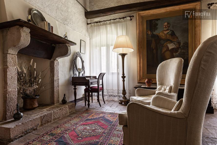 Fotografo interni residenza d'epoca Ferentillo Federico Viola Fotografia Latina