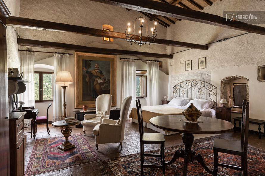 Fotografo interni residenza d'epoca San Pietro in Valle Ferentillo Federico Viola Fotografia Latina