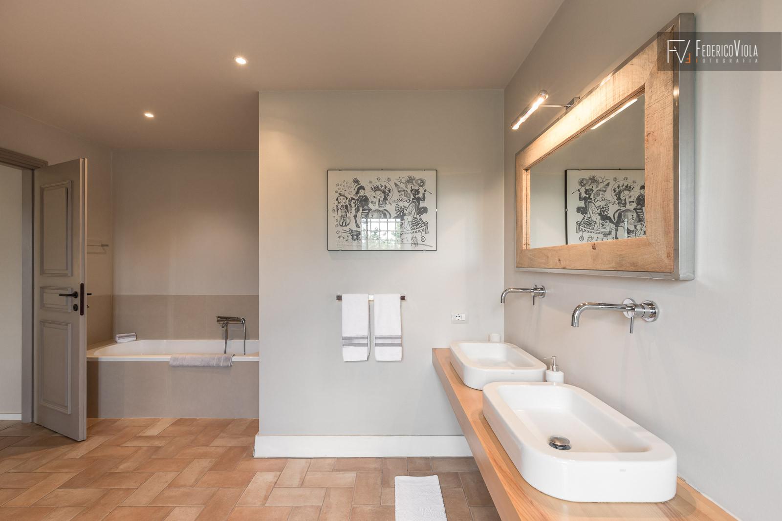 Sala da bagno - fotografo di interni Federico Viola Fotografia
