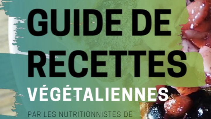 Livre numérique de recettes végétaliennes