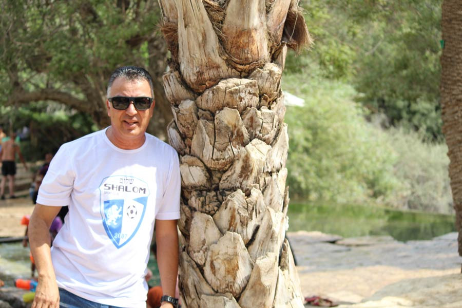 Ap. Lins em Israel.