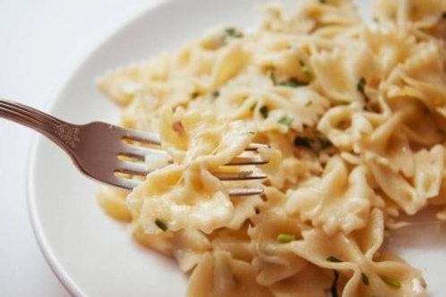 """Фарфалле """"3 сыра"""" в сливочном соусе"""