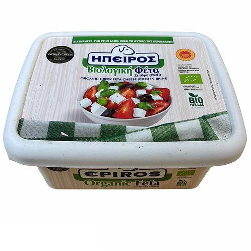 Epiros Organic Feta in brine - 350gr