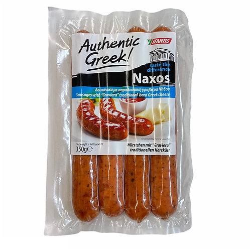 Ifantis Naxos BBQ sausages 350gr