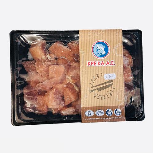 Kreka Pork Pieces /  Tygania frozen - kg
