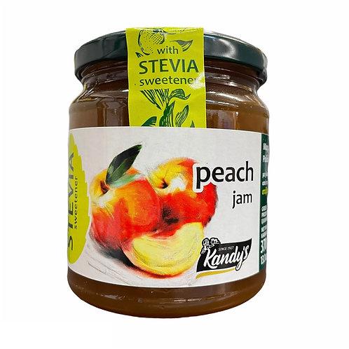 Kandylas Stevia Peach Jam - 370gr