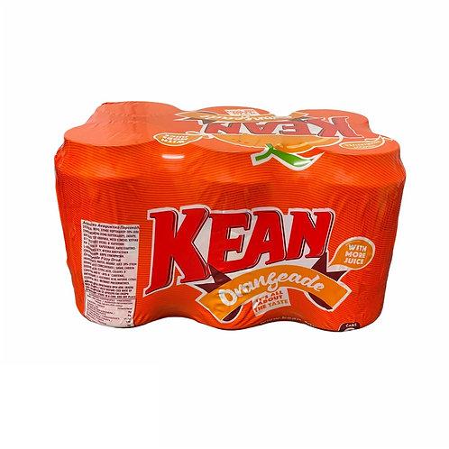Kean Orangeade Tin 330ml Pack-6