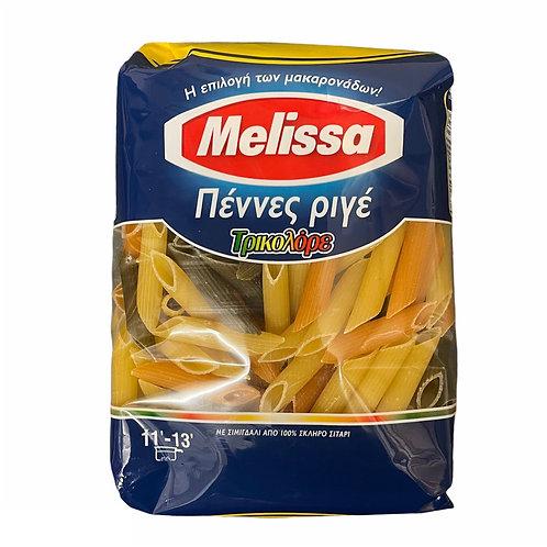 Melissa Penne Rigate Tricolore - 500gr