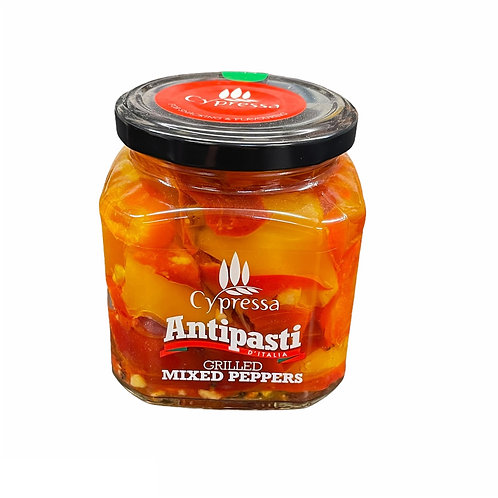 Cypressa Mixed Grilled Peppers - 280gr