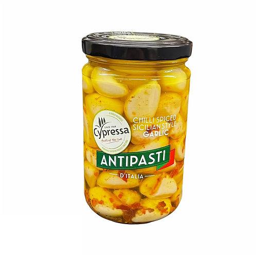 Cypressa Antipasti Chilli & Garlic - 280gr