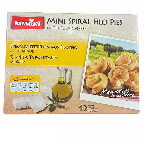 Kanaki Mini Spiral Cheese Pies - 480gr