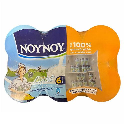 Nounou Evaporated Milk Light Pack-6