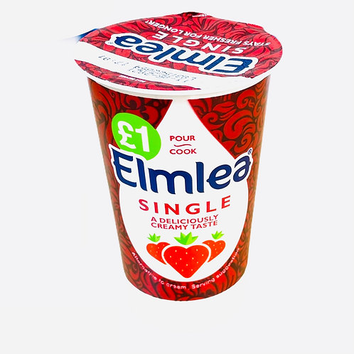 Elmlea Single Cream - 284ml