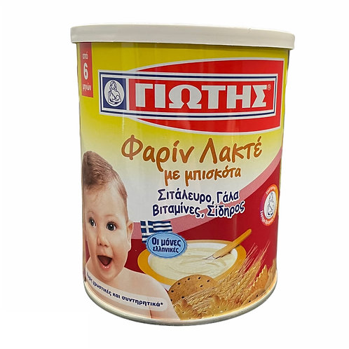 Jotis Cereal Farine Lactee with Biscuit - 300gr