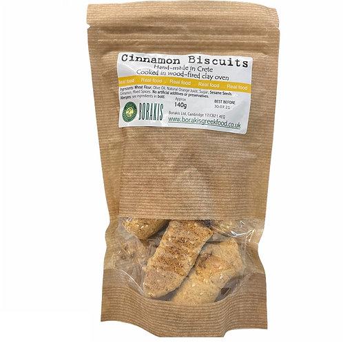 Borakis Cinnamon Biscuits - 140gr