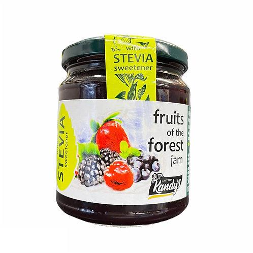 Kandylas Stevia Forest Fruit Jam - 370gr