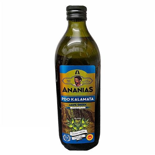 Ananias Kalamata PDO Extra Virgin Olive Oil - 1L