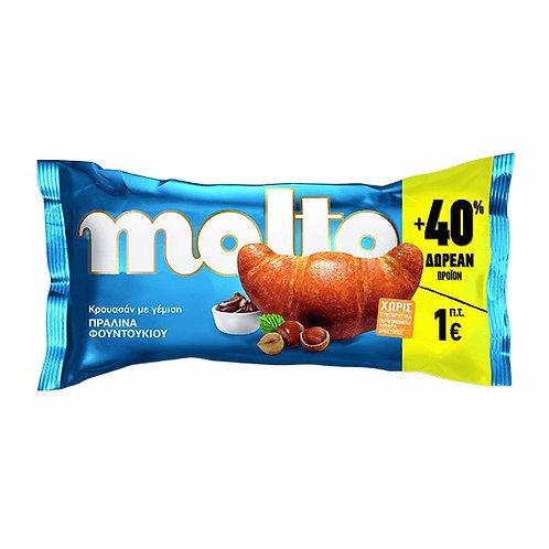 Molto Croissant Praline 110gr +40%