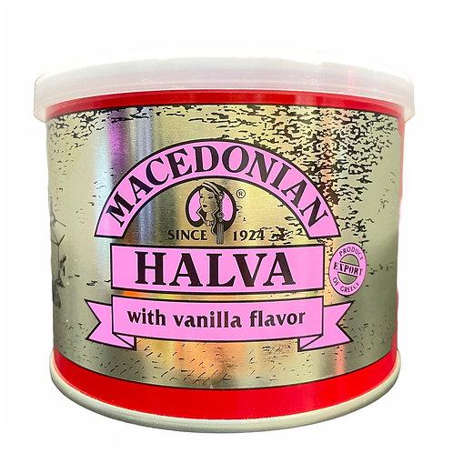 Macedonian Halva Vanilla tin 500gr