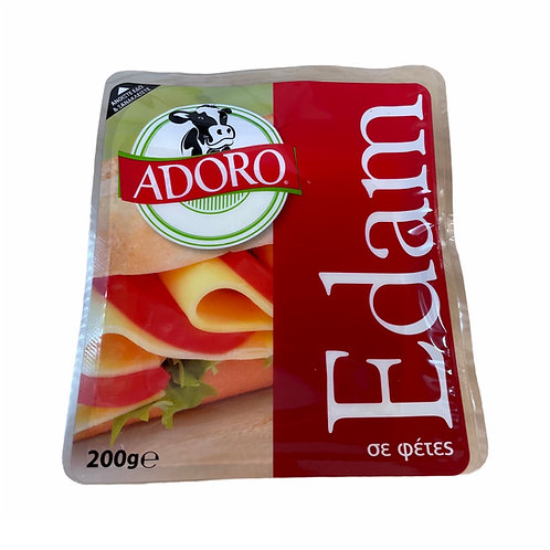 Adoro Edam cheese slices - 200gr